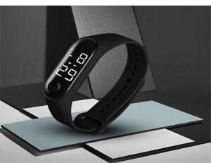 Men Women Casual Sport Watches LED Digital Sensor Light Waterproof Wrist