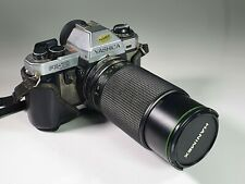 Vintage collectible Yashica FX-70 Quartz + Hanimex 80-200mm f 4.5 Zoom Lens