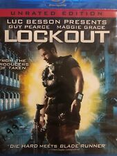 Lockout - Unrated Edition *USED* (Blu-ray, 2012, Sony)