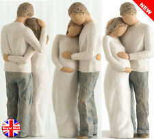 Home Figurine Couple Pregnant Highly Collectable Ornament Height 22 cm