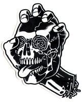 Santa Cruz Screaming Skull Skateboard Sticker - skate board sk8 new