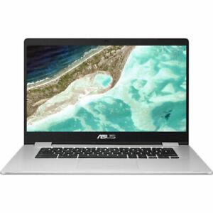 "Asus C523NA 15.6"" Chromebook 4 GB RAM 64GB Intel® Celeron® ChromeOS - Silver"