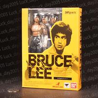 Bandai SHFiguarts Kung fu Star Bruce Lee Action Figure 100% Authentic