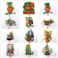 19 Styles Rat Fink Ed Roth Hot Rod Classic Big Daddy Vinyl Bike Laptop Stickers