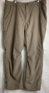 MAGELLAN OUTDOORS Men's Khaki Sport Hiking All Weather Pants ~ Size 38 X 30