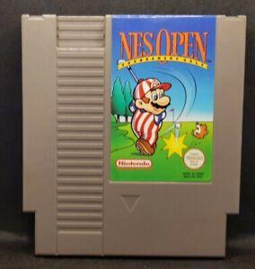 Nes Open Tournament Golf - Nintendo NES Game PAL Version