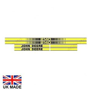 DECAL SET FOR JOHN DEERE 2140 TRACTORS.