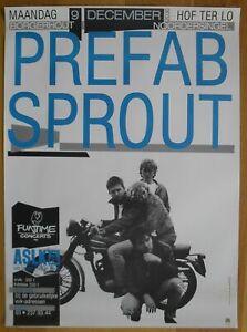 PREFAB SPROUT original concert poster '85