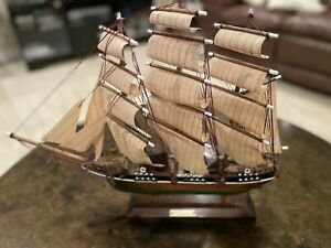 Vintage Cutty Sark 1869 Clipper Ship Model (Made in Spain) Excellent Condition