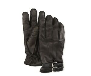 $250 Neiman Marcus Black Leather Gloves Made in Italy Sizes: XS, S, M 7.5, 8, 9
