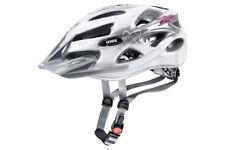 Uvex Ónix Blanco / Rojo casco bicicleta 52-57cm