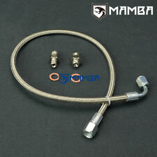 MAMBA Turbo Oil Feed Line Kit For MAZDA MIATA MX-5 323 GTX Garrett GT25R GT28R