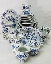 BLUE DANUBE china/pattern service for 10 plus serving pieces, 60 pieces total!!!