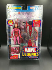 "Marvel Legends SCARLET WITCH 6"" Figure ToyBiz LEGENDARY RIDERS SERIES Wanda"