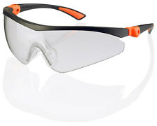CLICK Traders ROMA Safety Spectacles/Glasses CLEAR Lens