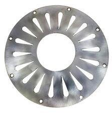 5.5 inch Stainless Steel Resonator Cover Plate - Radial Teardrop Design