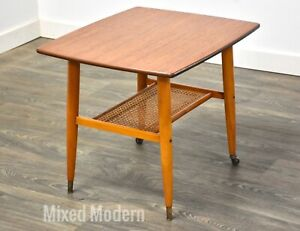 Swedish Teak End Table by Alberts
