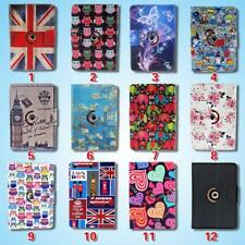 Universal Rotating 360 Stand Wallet Leather Cover Case For Various Tablet