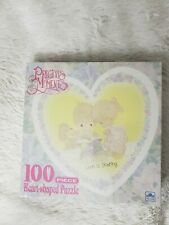 Vintage Precious Moments heart shaped Puzzle Bundle with coloring book