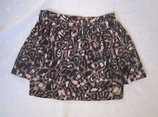 TWENTY8TWELVE ~ HAMMOND ~ Women's Abstract Print 2 Layers Mini Skirt - Size 4