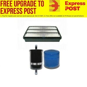 Oil Air Fuel Filter Service Kit for Holden Frontera MX Jackaroo Rodeo TF