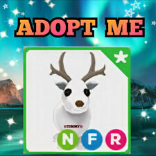 ❄️🦌 NEON ARCTIC REINDEER (NFR) 🦌❄️ Adopt Me Roblox with Fly Ride raindeer deer