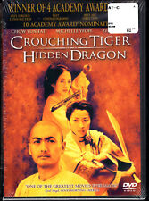 Crouching Tiger Hidden Dragon Dvd, New Sealed, Bonus Offer