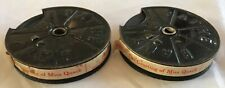 "Rare Pathescope 9.5mm Cine Film Movie on 2 x Reels ""The Courting of Miss Quack"""