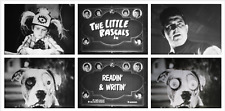 """16mm Film: THE LITTLE RASCALS """"Readin' and Writin"""" (1932) OUR GANG COMEDY"""