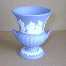 Wedgwood Jasperware Blue Urn