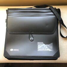 Creative Memories Black Paper Holder Tote Bag
