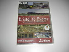 BRISTOL TO EXETER Pc DVD Add-On Expansion Railworks or Railworks 2 - NEW SEALED