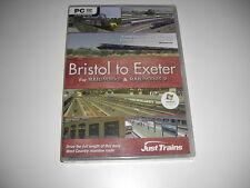 Bristol a Exeter PC DVD Add-On de expansión Railworks o Railworks 2-Nuevo Sellado