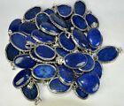 Lapis Lazuli & Mixed Gemstone Wholesale Lot 925 Sterling Silver Plated Pendant