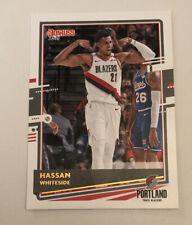 2021 Donruss Hassan Whiteside #66 Portland Trail Blazers