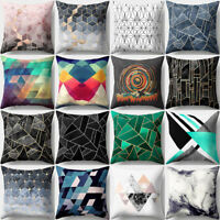 EG_ IRREGULAR GEOMETRIC PATTERN PILLOW CASE THROW CUSHION COVER HOME DECOR FUNNY