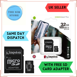 32GB Class 10 Micro SD Memory Card for DJI Osmo Action, Osmo Pocket,Osmo 4K