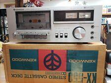 Vintage Kenwood Stereo Cassette Deck KX550