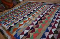 nr 70 Handgewebter VINTAGE Teppich KURDISTAN NOMADEN KILIM KELIM ca 278 x 180 cm