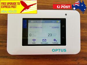 Unlocked Netgear Aircard AC800S Optus 4G Cat 11 600mpbs Mobile WiFi Modem Router