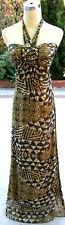 NWT BCBG MAX AZRIA $388 GLDNCANARY Pageant Prom Gown 12