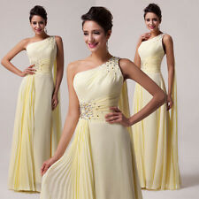 Chiffon Evening Ball Gown Party Club Prom Homecoming Wedding Bridesmaid Dresses