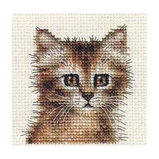 Écailles de tortue chat, chaton ~ full Compté Cross Stitch Kit + tous les matériaux