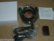 MICROSOFT XBOX 360 HDMI CABLE + PLAY & CHARGE KIT NEW! USB CHARGER BATTERY Black