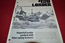 Allis Chalmers 430 Loader Dealer's Brochure DCPA