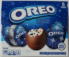 NEW CHRISTMAS OREO CREME FILLED EGGS 5 PACK BOX FREE WORLDWIDE SHIPPING