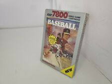 NEW Factory Sealed  (NIB) RealSports Baseball (Atari 7800) USA  NTSC VERSION G46