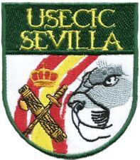 GUARDIA CIVIL USECIC SEVILLA GENDARMERIE POLICE EB01198 PARCHE INSIGNIA