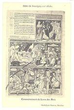 CPA 03 (Allier) - Bible de Souvigny (12e siècle) Commencement du Livre des Rois