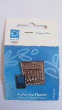 Athens 2004 Olympic Pin Badge Summer Games New - Acropolis